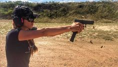 Pew Pew Pew Auto Glock #guns #ammo #girlsandguns #gunchannels #opencarry #texas #concealedcarry #defendthe2nd #2a #freedom #america #glock #protectitorloseit @walkersgsm EAR PROTECTION