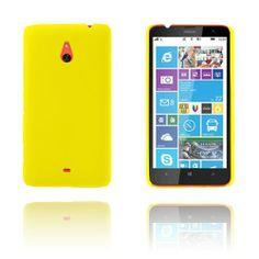 Hard Shell (Gul) Nokia Lumia 1320 Skal