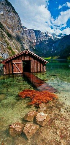 》  Obersee Lake, Germany. M.M