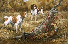 Linda Picken Art Studio / The Brittanys sold out.jpg