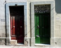 malta doors | Doors of Malta by Imkerhonig, via Flickr | Perfect Portals | Pinterest