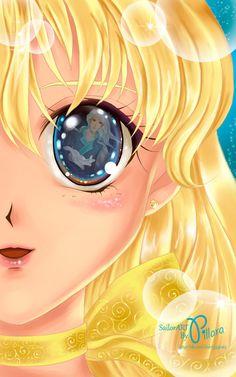 Resultado de imagen para ilustracion sailor moon eye