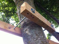 Construire une cabane (II) dans les arbres… | Toysfab