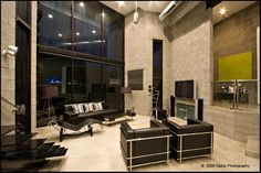 Modern, minimalist custom concrete home surrounded by the beauty of the Arizona desert.