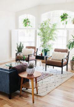 Pretty Boho Living Room | World Market