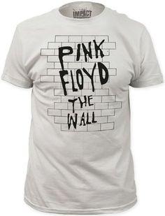 PINK FLOYD THE WALL Langarm damen lady Black T-shirt Shirt Rock Band Tee