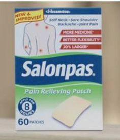 Say Good Bye To Pain With Salonpas!