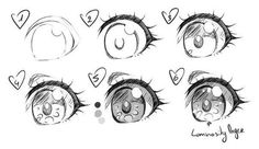 Manga Drawing Tips Simple Anime Eye Drawing Eyes, Manga Drawing, Female Drawing, Regard Animal, Chibi Eyes, Manga Eyes, How To Draw Anime Eyes, Simple Anime, Art Manga