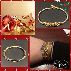¿Todavía no sabes que regalar en estas fechas? Prueba con una de nuestras pulseras en plata, el regalo de Navidad perfecto. #swalem #silver #chritsmas #presents #plata #regalaswalem #christmasshopping #regaloperfecto #navidad2015 #joyas #moda #pulseras #fashion #jeweladict Bracelets, Gold, Jewelry, Fashion, Christmas Presents, Silver, Bangle Bracelets, Jewels, Moda