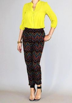 Amazing print & colors on this Geo Pants!! Perfect for all year round! Available now from Urban Philosophy! #fashion #womansfashion #shopping