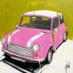 Mini-rose - acrylique sur toile - 80x80cm - année 2013