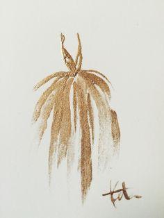 """Image of Original Golden Gown 4""""x6"""""""