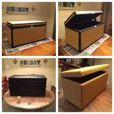 DIY Minecraft Double Chest My 6 year old loves it for his bedroom and the added storage and seating is great. Boys Game Room, Boy Room, Kids Room, Minecraft Bedroom Decor, Minecraft Room, Minecraft Storage, New Bedroom Design, Game Room Decor, Gamer Room
