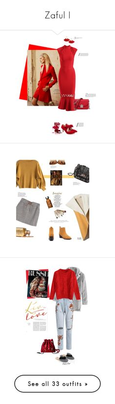 """Zaful I"" by stellina-from-the-italian-glam ❤ liked on Polyvore featuring L'Oréal Paris, H&M, Madara, Kerr®, Deborah Lippmann, Bastien, Anja, Dolce&Gabbana, CUSTO LINE and Rachel"