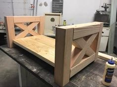 A DIY Farmhouse Coffee Table that's giving farmhouse a new name. Build this chunky farmhouse coffee table using these easy step-by-step coffee table plans. Farmhouse End Tables, Farmhouse Furniture, Rustic Furniture, Coffee Table Plans, Diy Coffee Table, Woodworking Furniture Plans, Woodworking Chisels, Woodworking Kits, Easy Wood Projects