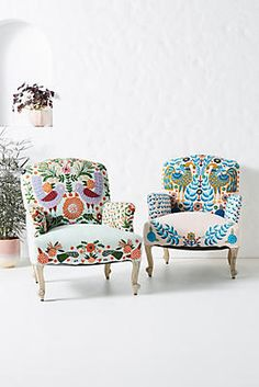 Jimena Occasional Chair by Anthropologie