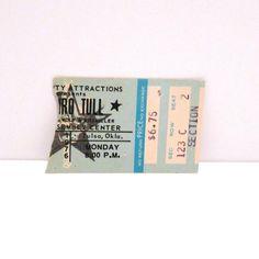 X John Doe Exene Cervenka Ticket Stub and CD 1993 Vintage Cains Ballroom Tulsa Oklahoma Live In Concert LA Punk Rock 90s Mohawk Music