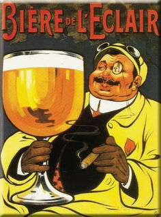 vintage beer ad ***Research for possible future project.