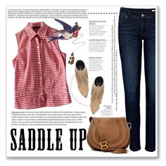 """""""Go West"""" by crblackflag ❤ liked on Polyvore"""