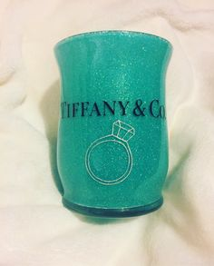 A personal favorite from my Etsy shop https://www.etsy.com/listing/502436692/glitter-makeup-brush-holder-tiffany-co
