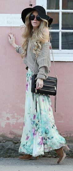 flower skirt   Anna
