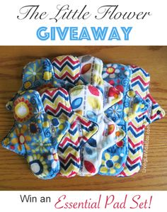 Win a set of 8 cloth pads from Living La Vida Eco!! Open to Canada and USA ends 7/9... http://fb.me/WkVboCTf
