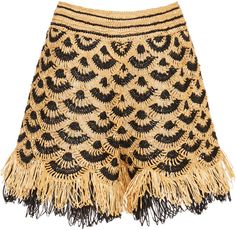 Get inspired and discover Oscar de la Renta trunkshow! Shop the latest Oscar de la Renta collection at Moda Operandi. Chrochet, Crochet Yarn, Crochet Stitches, Crochet Patterns, Knitwear Fashion, Crochet Fashion, Crochet Woman, Fabric Manipulation, Crochet Clothes
