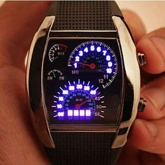 Awesome car themed watch