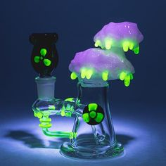 Empire Glassworks - Radioactive Cloud Such a Cool Glass Piece