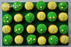 tennis cupcakes - Google Search