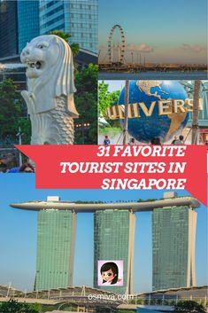 Singapore Tourist Attractions. Travel Destination. Asia. Travel Ideas. Attractions in Singapore.