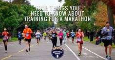 The four things you need to know about training for a Marathon