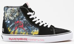"Iron Maiden ""The Number of the Beast"" x Vans Sk8-Hi & Slip-On"