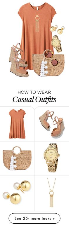 """Casual Wear - Quick Dressing : Casually Put Together"" by sonyastyle on Polyvore featuring RVCA, Schutz, JADE TRIBE, Yoko London, Shinola and Miu Miu"