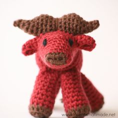 crochet water buffalo pattern Oh everybody has a water buffalo-oooooooooooooooooo-ooooooooooo