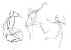 Quick Tip: Create Dynamic Poses Using Gesture Drawing by Rowena Aitken