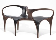 Zaha Hadid remixes midcentury design in a final furniture collection