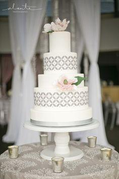 Modern Wedding Cake | Honey Crumb Cake Studio