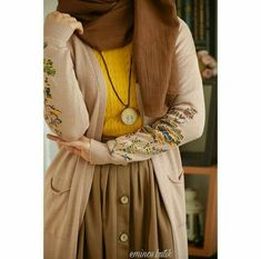 PINTEREST: Bishara Modest Dresses, Modest Outfits, Modest Fashion, Fashion Outfits, Hijab Style, Hijab Chic, Hijab Dress, Hijab Outfit, Modele Hijab