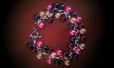 Pearl Beaded Chain Bracelet - pinned by pin4etsy.com