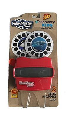 Basic Fun View Master Classic Viewer with 2 Reels Marine Life Toy ** Find out @