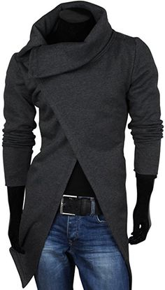 This chic men's outfit is for everyday business. You wear a blue denim shirt together with a fashionable Amaci&Sons jea. Trendy Mens Fashion, Mens Fashion Suits, Dark Fashion, Mode Outfits, Fashion Outfits, Men's Fashion, Mode Sombre, Designer Suits For Men, Men Style Tips