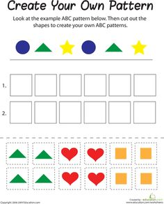 Worksheets: ABC Pattern