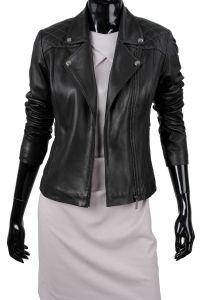Kurtka Skórzana Ramoneska Damska DORJAN ANR450 Ramones, Leather Jacket, Jackets, Fashion, Fotografia, Studded Leather Jacket, Down Jackets, Moda, Leather Jackets
