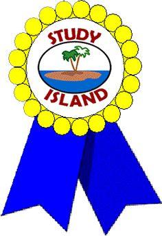 Blue Ribbon Study Island, School Items, Computer Lab, Blue Ribbon, Chicago Cubs Logo, Third Grade, Classroom, Teaching, Education