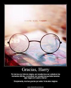 Gracias a todo el elenco de Harry Potter y su escritora para que toda esta maravilla te cambie la vida
