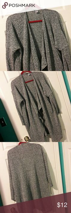 NEW. SALT & PEPPER CARDIGAN SWEATER Longer style cardigan. Long sleeve. 39 in. K. Divided Sweaters Cardigans