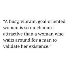 If you looked up MAL in the dictionary, it would read, goal-oriented woman.