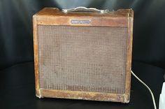 """VINTAGE 1950's FENDER TWEED """"Harvard"""" 5F10 ELECTRIC GUITAR TUBE AMPLIFIER AMP"""