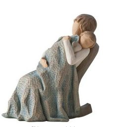 great price on some willow tree figurines! get them for mothers day! willow tree the quilt figurine, the quilt, willow tree, mothers day gift idea, meaningful gift idea, gifts for mom
